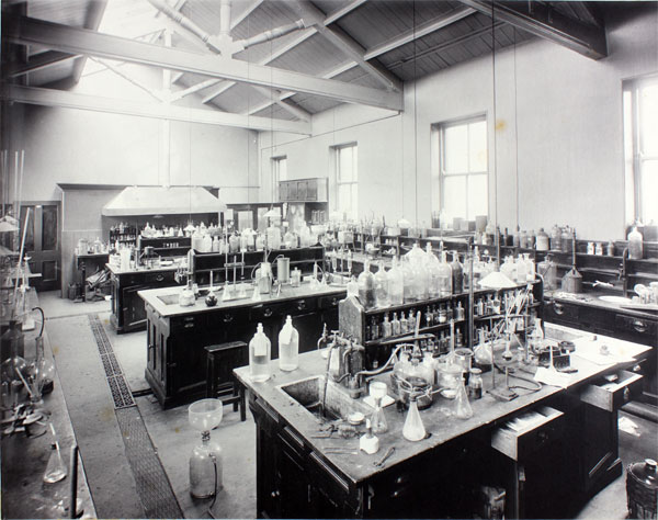 Technical Laboratory - now site of Bradford Textile Archive Reading Room
