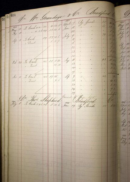 John Knox - cashbook 1875