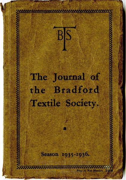 Bradford Textile Society Journal 1935-36