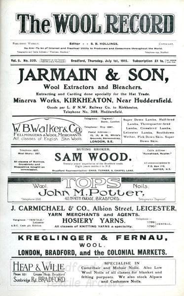 Wool Record 1915
