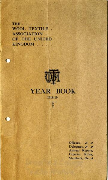 Wool Textile Association Year Book 1918-19
