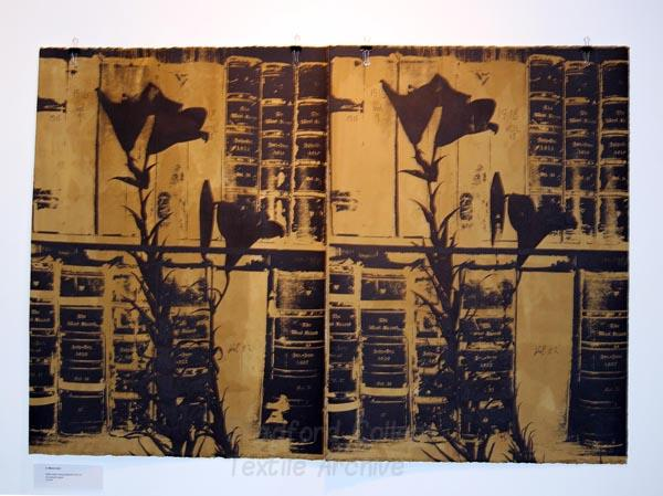 Work by Barbara Greene inspired by Bradford College Textile Archive