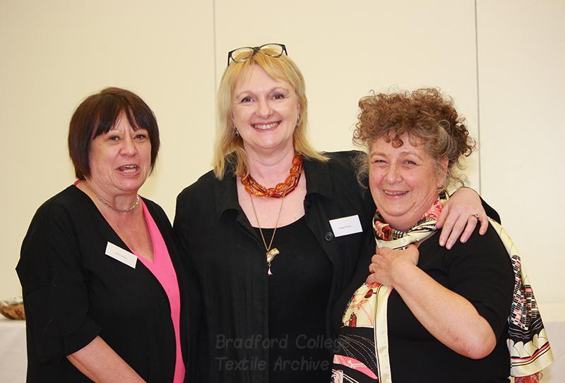 Clare Lamkin, Helen Farrar and Ruth Caswell